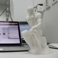 Photo of 3d print sculpture by Cosmo Wenman