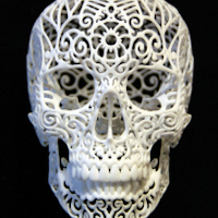 Image of 3D Printed Sculpture by Joshua Harker