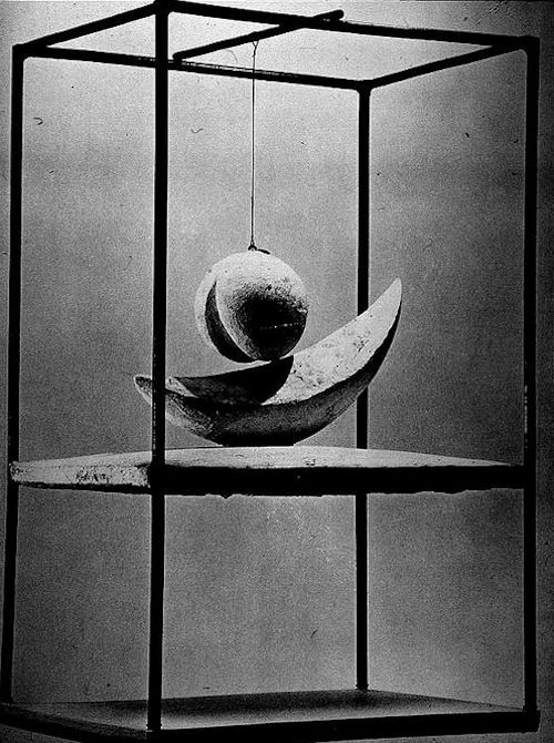 Photo of Alberto Giacometti Suspended Ball Kinetic Sculpture Mobile