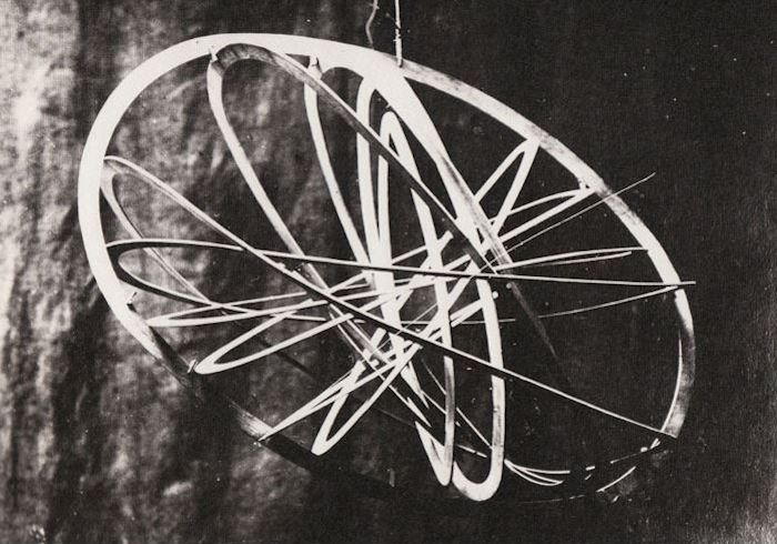 Photo of Aleksandr Rodchenko Oval Hanging Construction Mobiles