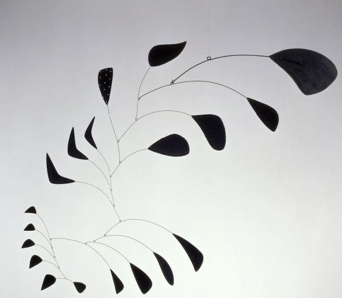 Photo of Alexander Calder Vertical Foliage mobile