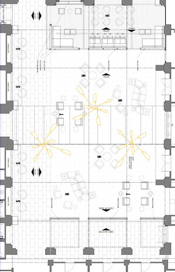 Large Mobiles - Commission - Floor Plan