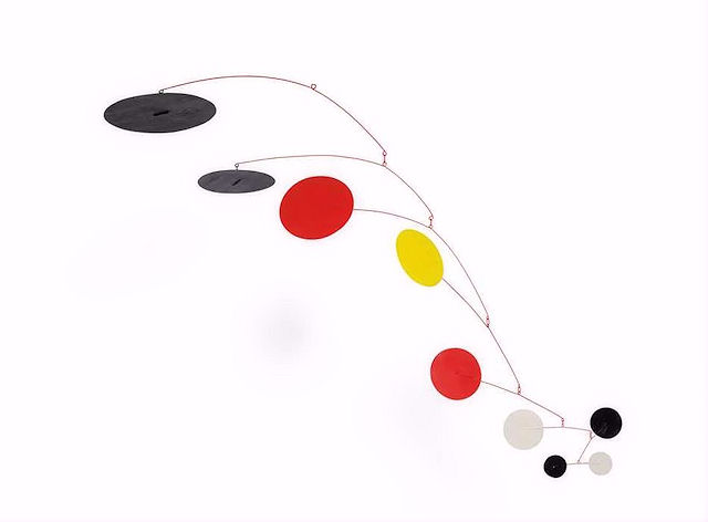 original hanging mobile by calder for sale - not a replica