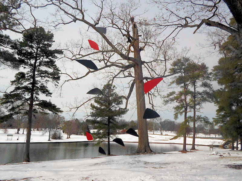 Photo of Large Calder Inspired Custom Mobiles For Sale