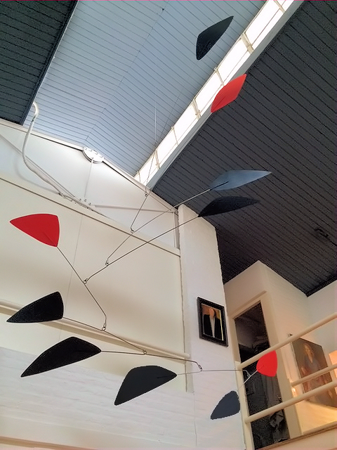Photo of Large Calder Mobiles Reproduction