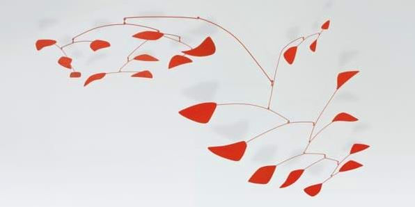 Photo of Original Hanging Mobile Sculpture Calder Sumac