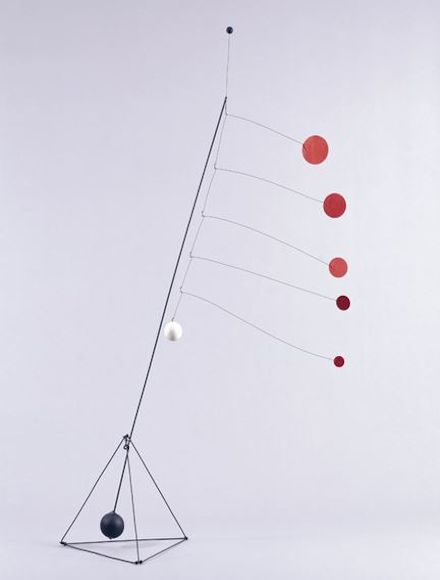 Photo of Alexander Calder Object with Red Discs 1931