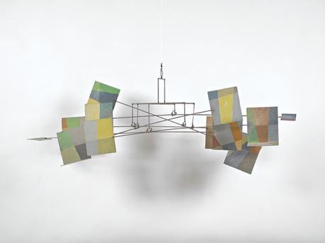 Photo of George Rickey Diptych The Seasons 1956 Mobile Sculpture