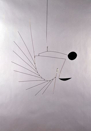 Photo of George Rickey Sun and Moon 1951 Mobile Sculpture