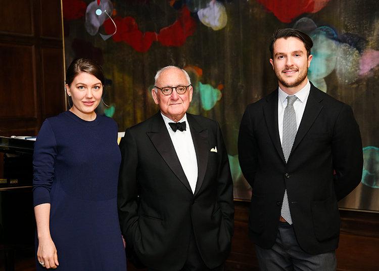 Photo of Lauren Kruegel, Robert A.M. and Stern, and Ross Alexander
