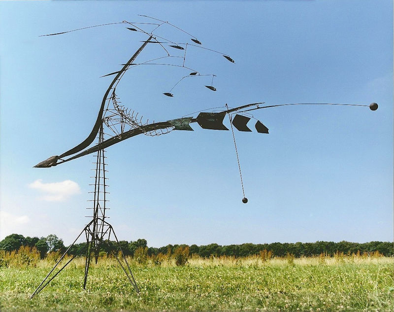 Photo of Lynn Chadwick The Fisheater 1951 Outdoor Mobile Sculpture