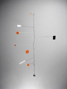 model for a large modern art hanging mobile