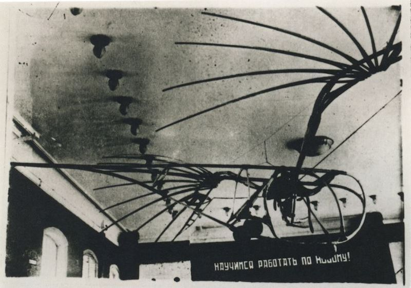 Photo of Vladimir Tatlin Letatlin Mobiles 1930