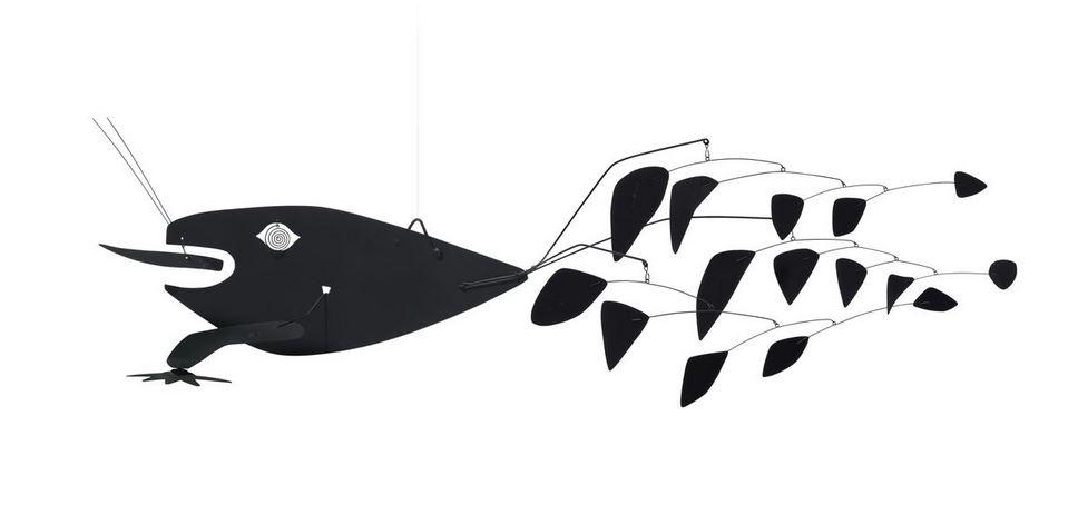 Photo of Alexander Calder Mobile For Sale Hanging