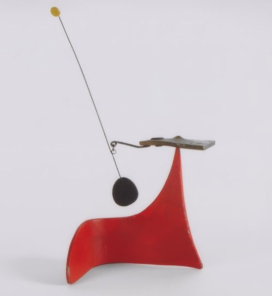 Photo of Alexander Calder Red Snail Mobile for sale