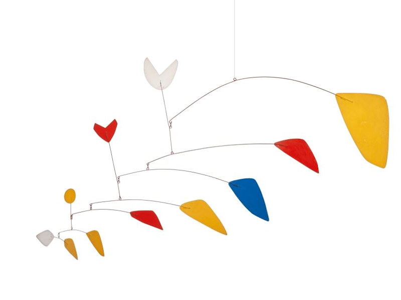 Photo of original Alexander Calder Mobile for sale