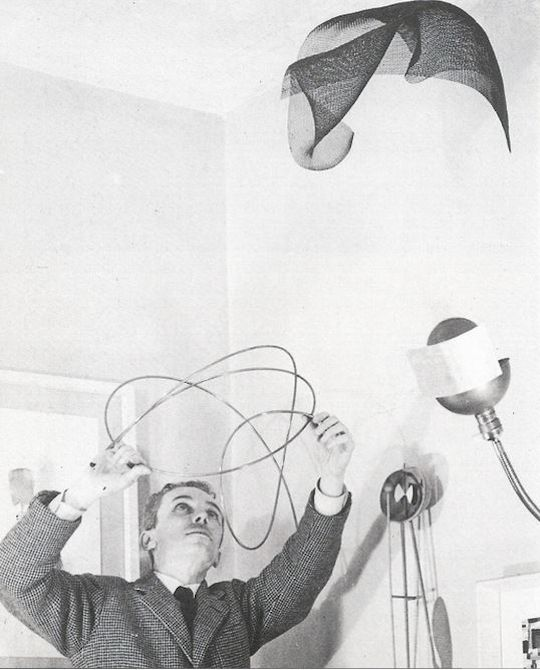 Photo of Bruno Munari Useless Machines