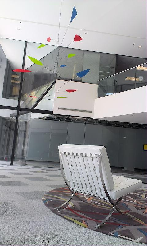 Photo of Calder Inspired Mobile