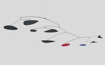 Image of Alexander Calder Hanging Mobile For Sale