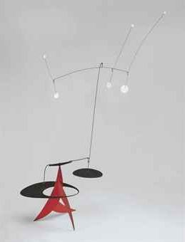 Image of Calder Standing Mobile Stabile For Sale