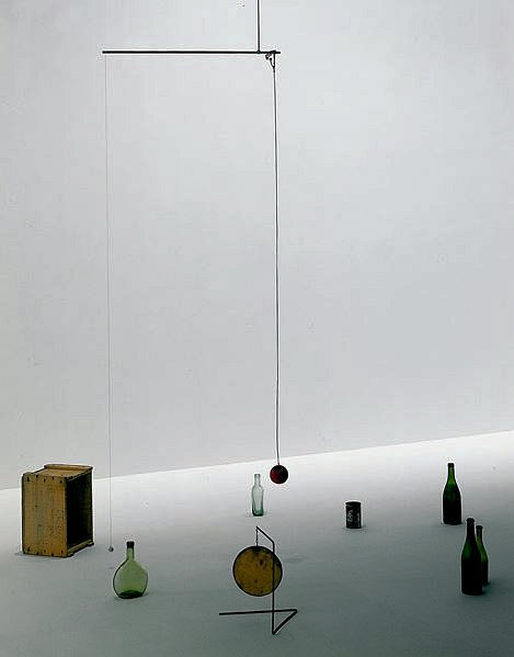 Photo of First Hanging Mobile by Alexander Calder