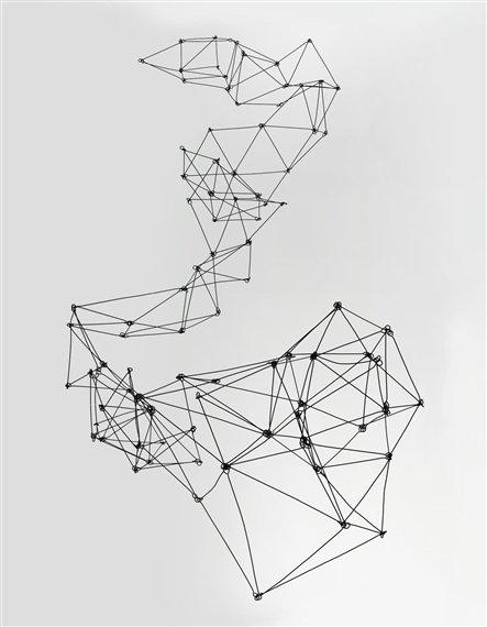 Photo of Gego Columna Reticularea 1969 Mobile Sculpture