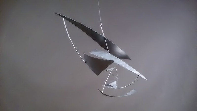 Photo of Hanging Sculpture Mobile Abstract