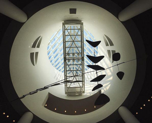 Photo of Large Calder Atrium Sculpture