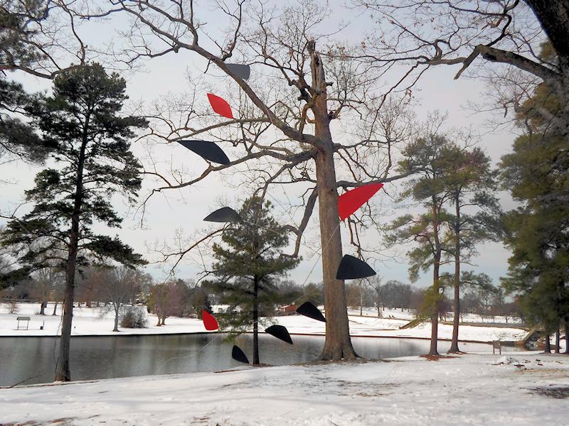 Photo of Large Calder Inspired Custom Mobiles For Sale