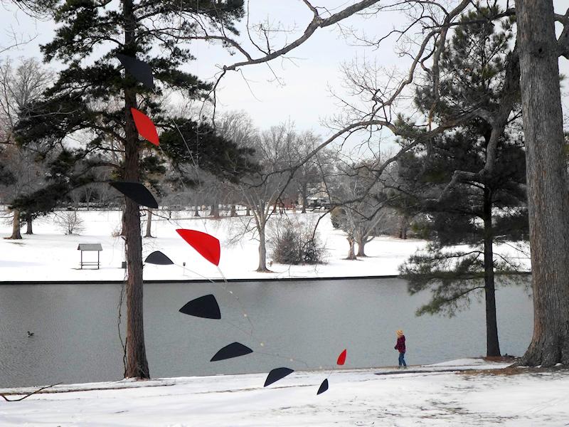 Photo of Large Calder Inspired Mobile at Lake