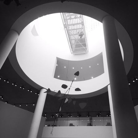 Photo of Large Calder Mobile Atrium