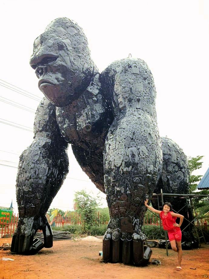 Photo of Large Custom Sculpture - Gorilla - by Tom Samui