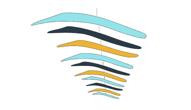Design for Large Hanging Mobiles