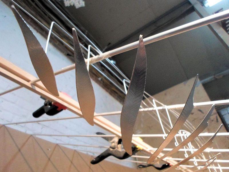 Photo of Large Hanging Moving Art Installation