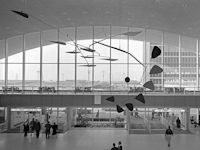 Photo of Large Mobile Sculpture Lobby Alexander Calder