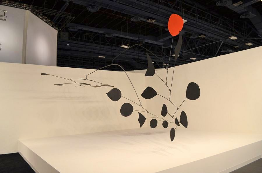 Photo of Large Orginial Calder Mobile for Sale