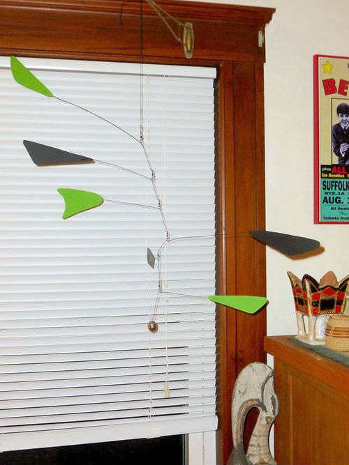 Photo of Calder Style Mobile made by Carolyn Kingston