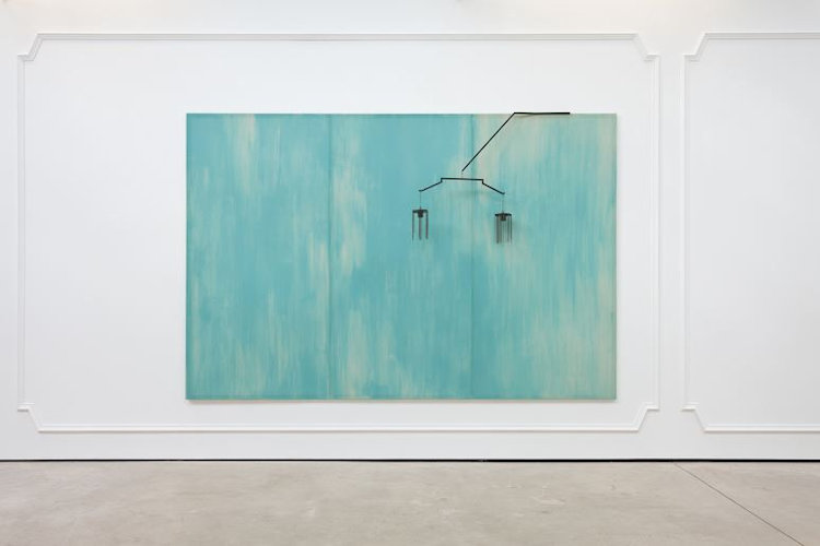 Photo of Martin Boyce Painting Mobile Sculpture for sale