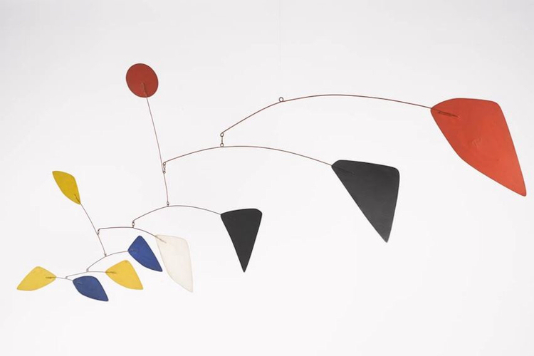 iconic 1960 calder mobile from private collection on offer. Black Bedroom Furniture Sets. Home Design Ideas