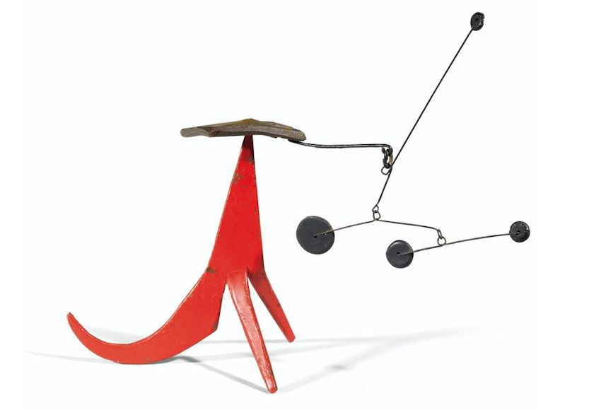 Photo of Original Alexander Calder Hanging Mobile for sale