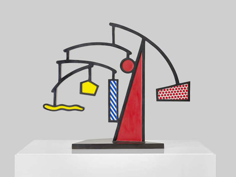 Photo of Roy Lichtenstein Mobile Sculpture for sale