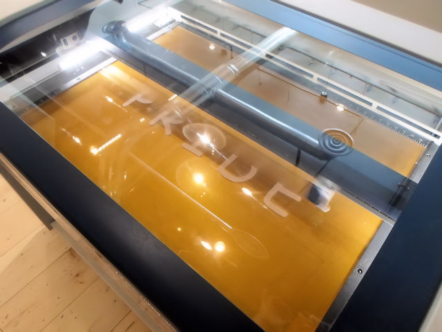 Photo of Suspended Art Installations Laser Engraving