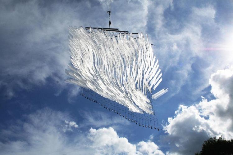 Tim Prentice Lexan Curtain 2012 Mobile Sculpture