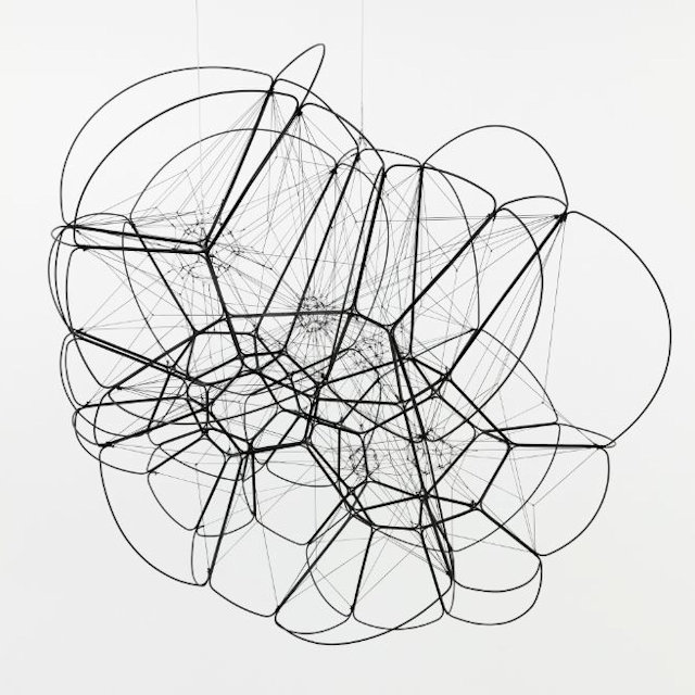 Photo of Tomas Saraceno Suspended Sculpture for sale