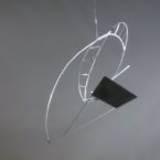 Abstract Hanging Sculpture Art Mobile